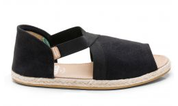 Fit Sandal Suede Black